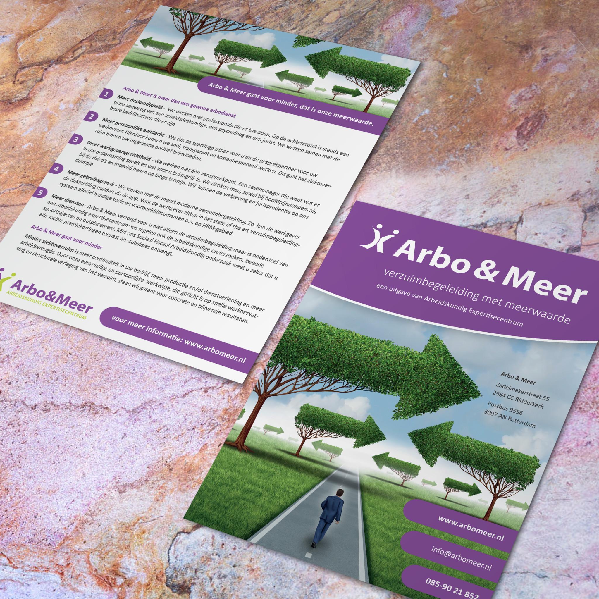 A5 flyer Arbo & Meer