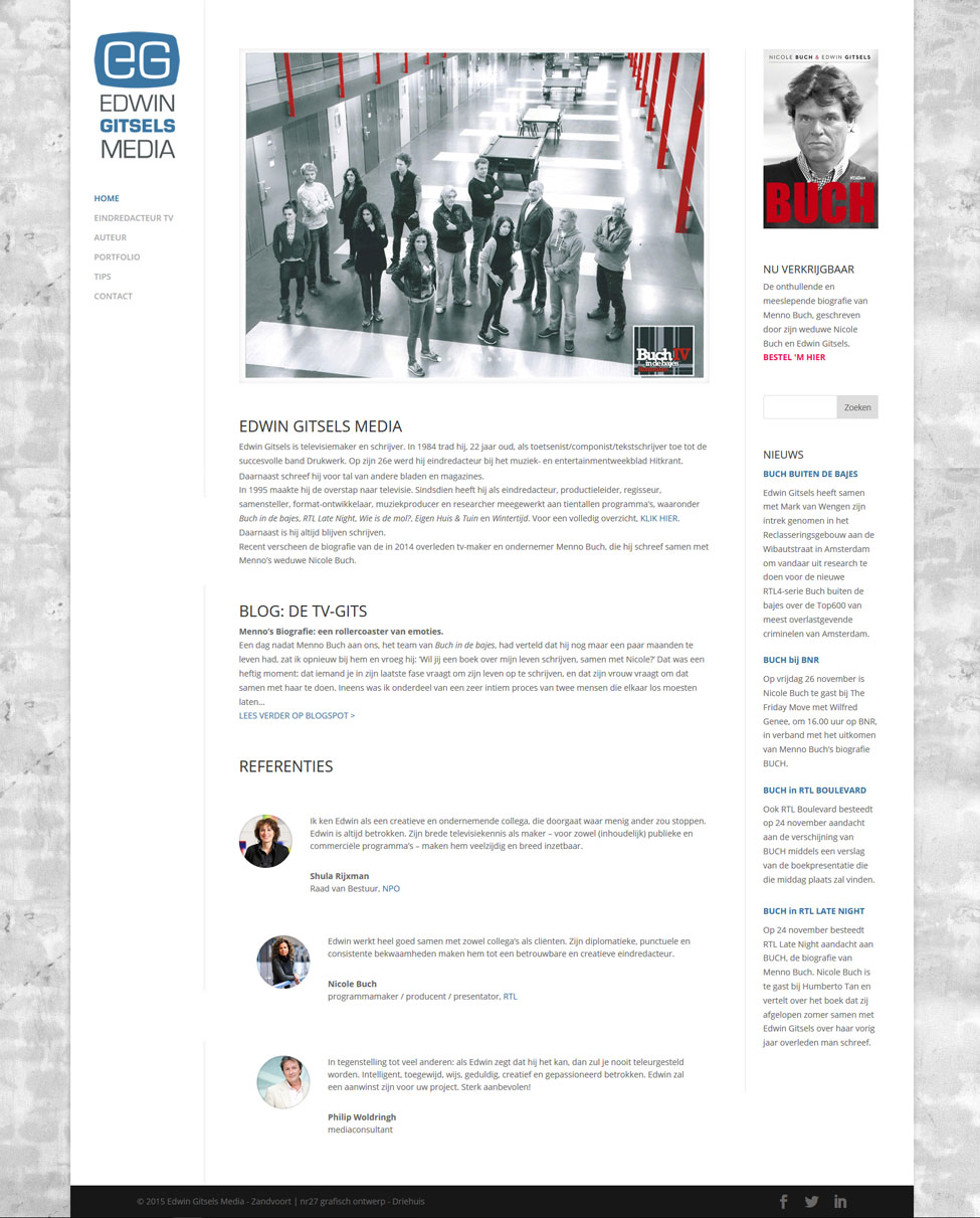 homepage Edwin Gitsels Media