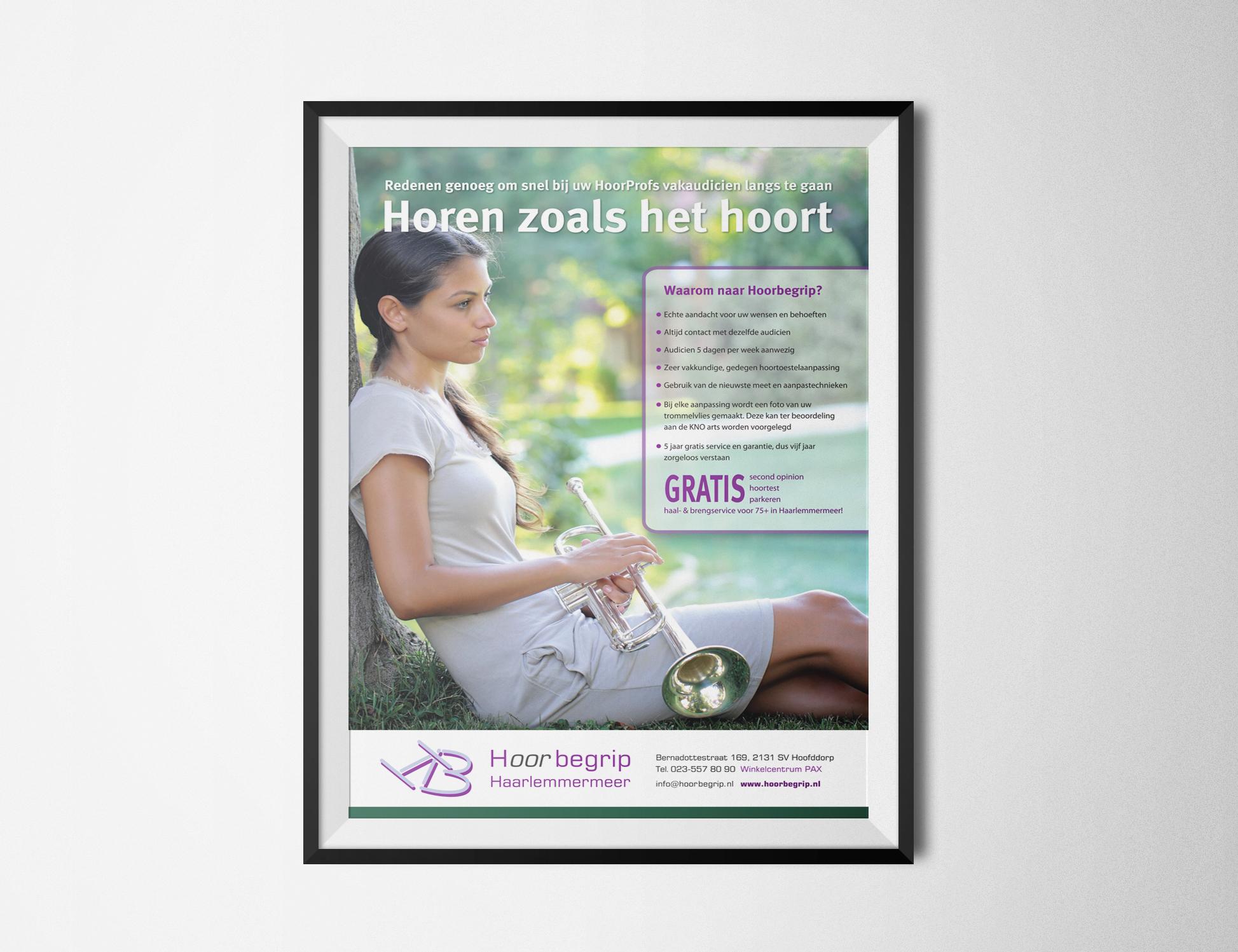 A1 poster Hoorbegrip