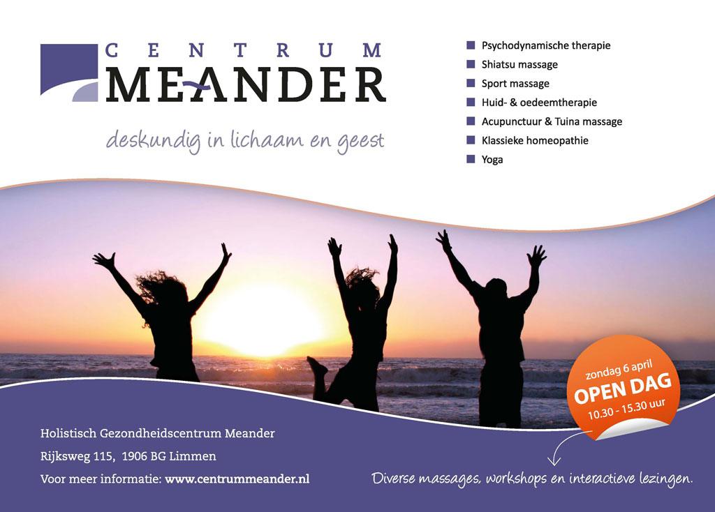 advertentie Meander